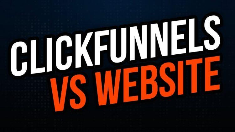 Clickfunnels vs Website