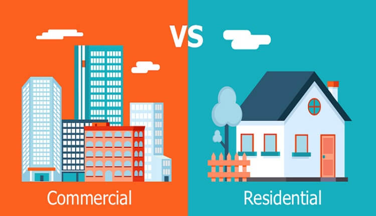 Difference between Residential Property Loans & Commercial Property Loans