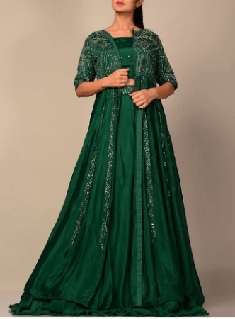 Indian Wedding Dress for Reception Party